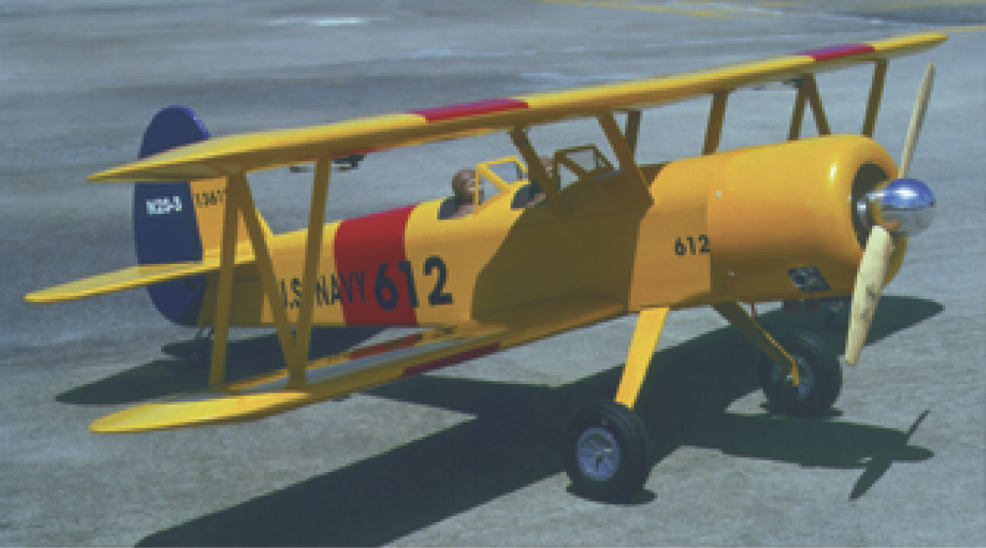 PT-17 Stearman, The Flying Models Plan Store<br><br>We also