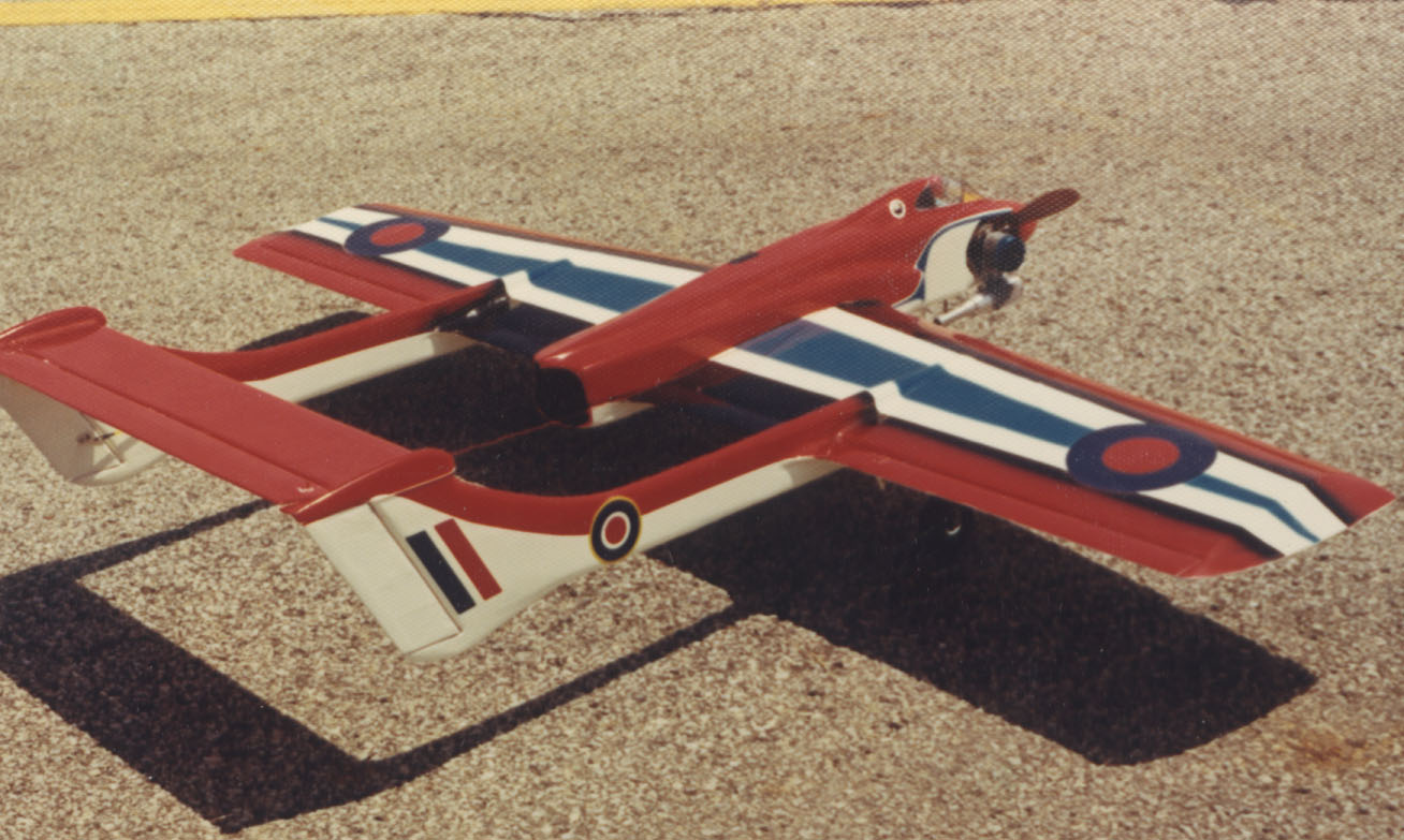 Sea Vixen CL, The Flying Models Plan Store<br><br>We also