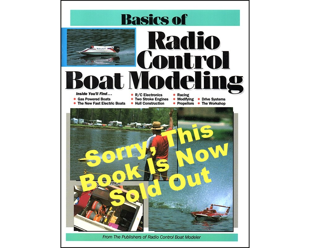 Basics Of Radio Control Boat Modeling   SOLD OUT, The Flying Models Plan  Storeu003cbru003eu003cbru003eWe Are Also Offering Second Prints At Half Price, If You Want  To Build ...